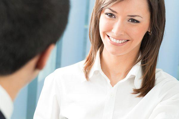sonrisa entrevista trabajo
